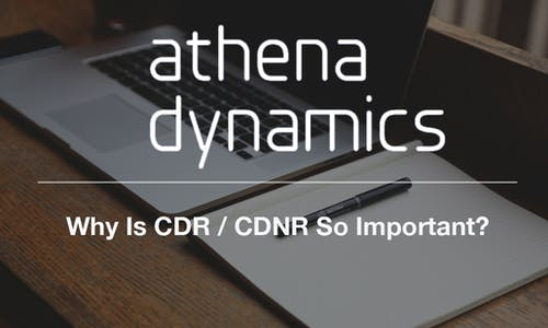 Why Is CDR / CDNR So Important?
